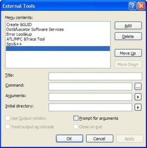 how to change project title in ms project 2003